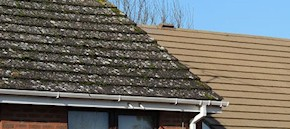 Gutter and roof cleaning in Romford and Upminster